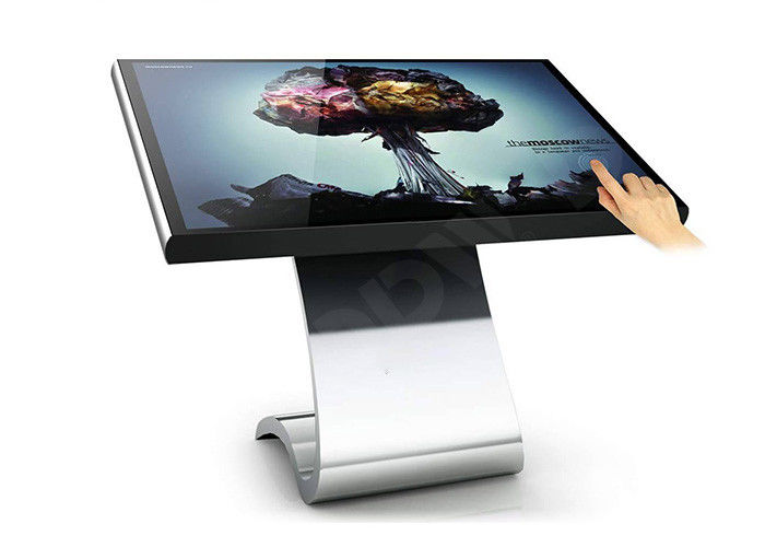 32 inch touch screen pc monitor interactive kiosk , 1100 : 1 multi touch kiosk DDW-AD3201SNT
