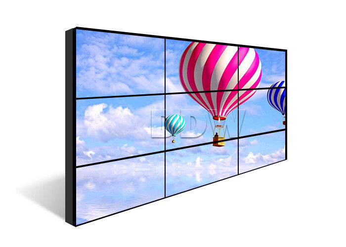 Flexible 3x3 video wall LG video wall 55 inch 1.8mm 230W ips panel Splicing image processing ISO9001 DDW-LW550DUN-THA3
