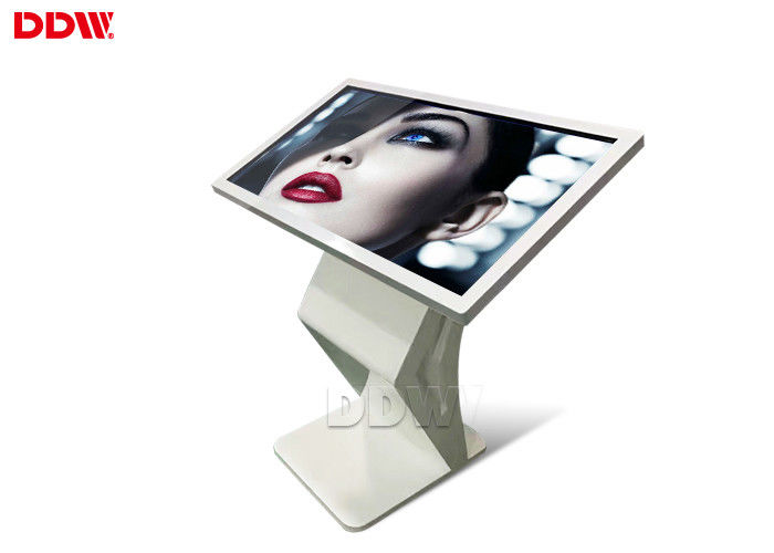 Android Floor Standing Touch Screen Digital Signage 55'' Small Size Capacitive Multi Touch
