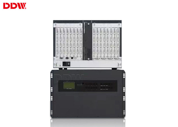 HDMI / VGA / J45 / DIV Video Wall Controller multi - signal input formats Aluminum brushed DDW-VPH0809
