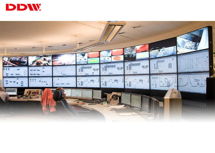 "55"" curved video wall 500nits brightness 1080p high resolution 3.5mm snarrow bezel curved tv DDW-LW550HN11"